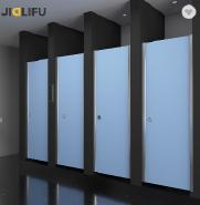 JIALIFU popular public lavatory HPL partition in Sweden
