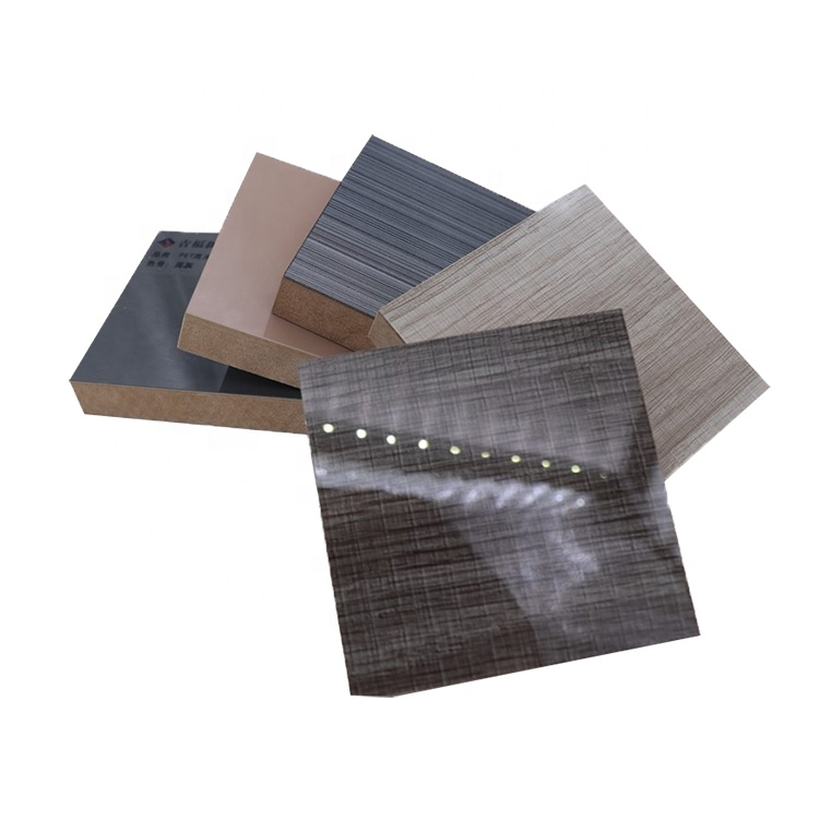 3mm mdf medium density fiberboard perforated board pvc coating