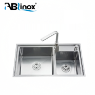 foshan popular inox handmade kitchen sink