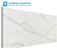 Polished Calacutta/Calacatta Nuvo White Artificial Quartz Stone Slab