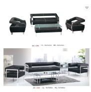 modern open office furniture sofa cover set factory sell directly SJ28