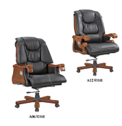 Confortable luxury wooden executive office chair for boos