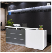 High quality office furniture office counter design for reception