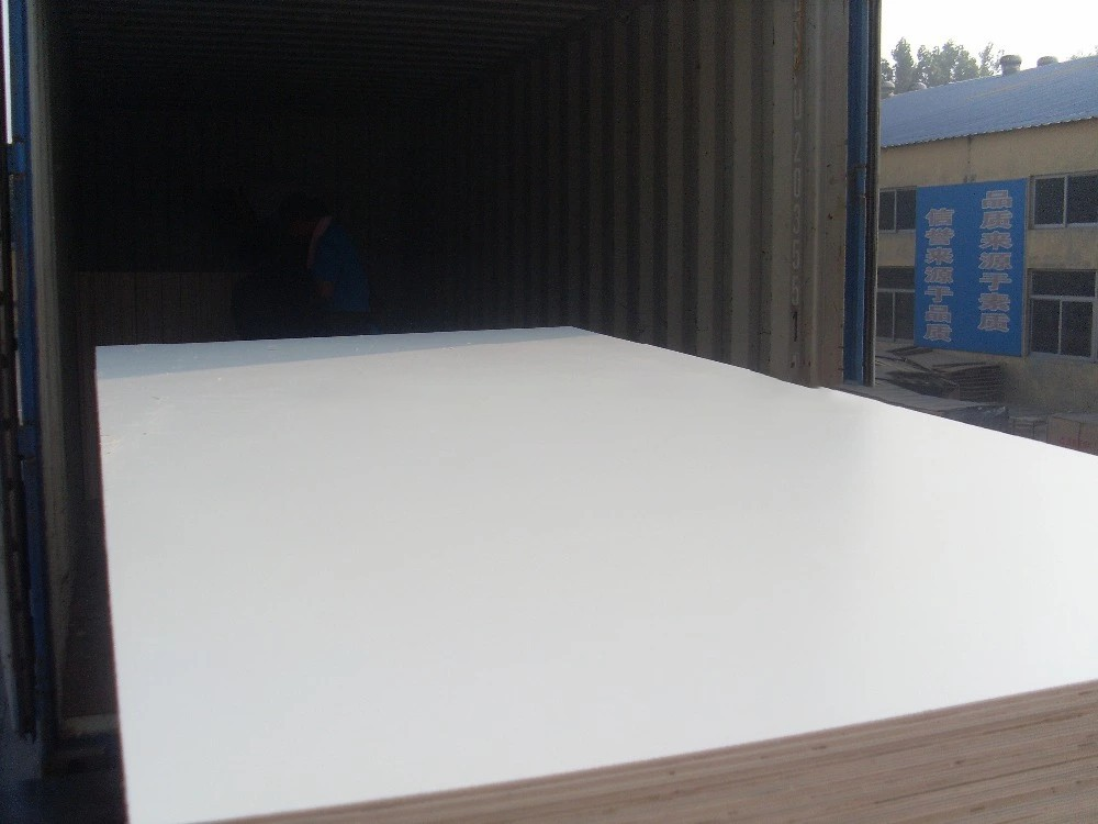 HPL laminated commercial plywood