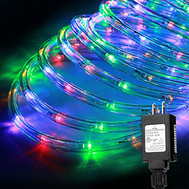 High Power Neon Flat Decorative Led Rope Light For Festival