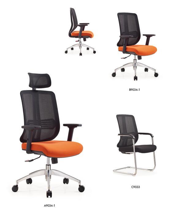 Modular workstation cubicle for 6 person office furniture desks