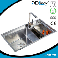 rv undermount double bowl kitchen sink