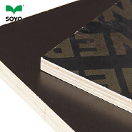 15MM Melamine Glue Brown Film Faced Plywood for Construction