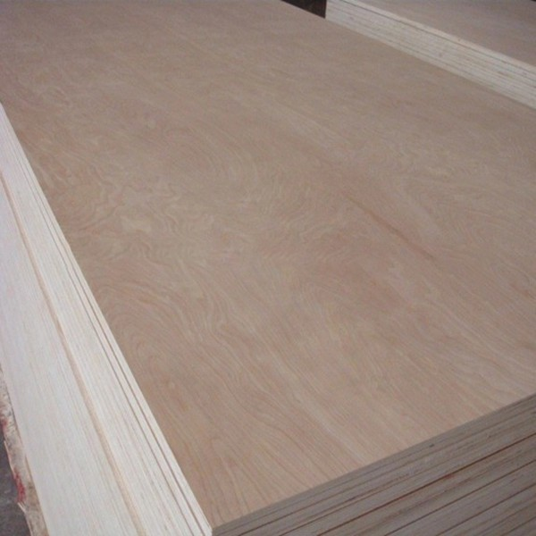 18mm 4x8 artificial veneer faced commercial plywood