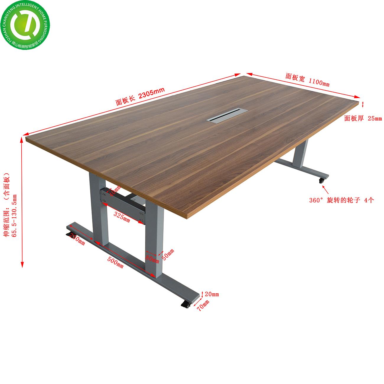 Adjustable desk leg height adjustable table&adjustable desk metal&standing reception desk