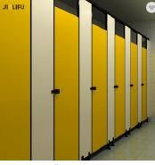 ialifu Easy to Clean Nylon hpl Toilet Partitions