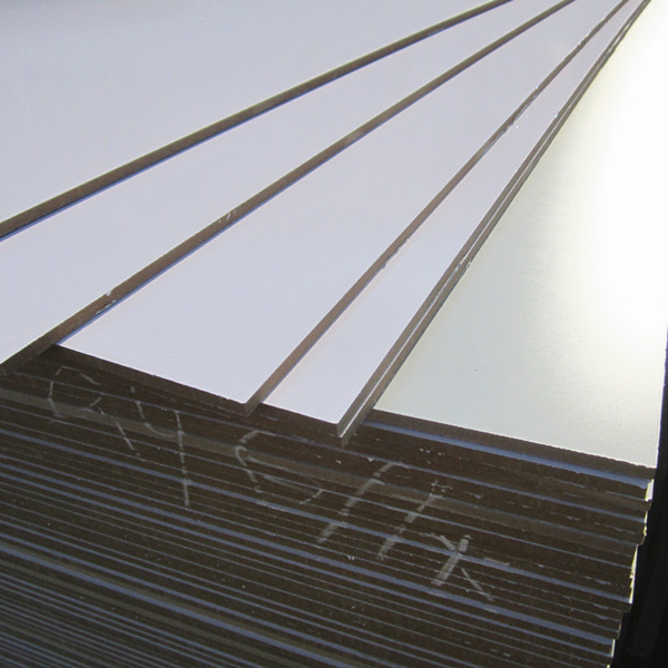 9mm Melamine laminated MDF board used for making writing board