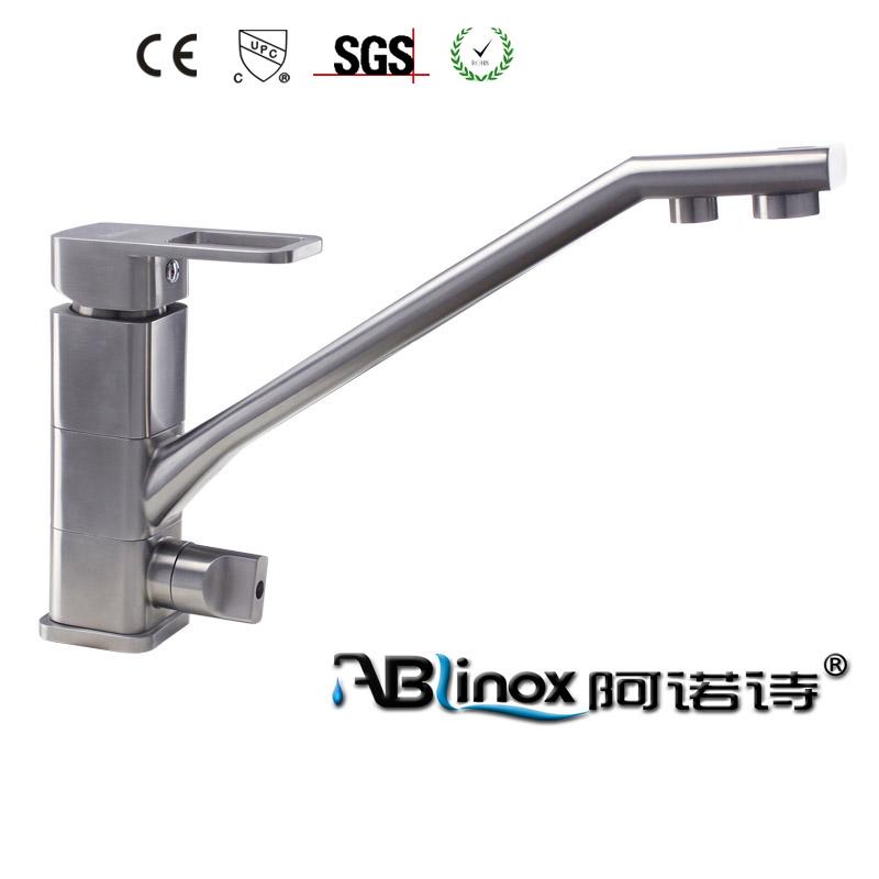 304 Stainless steel kitchen sink faucet pot filler faucet spigot for hotel