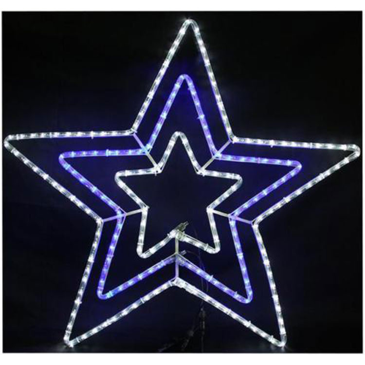 New Year Star Of Bethlehem Motif Rope Light