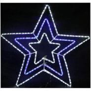 New Year Star Of Bethlehem Motif Rope Light