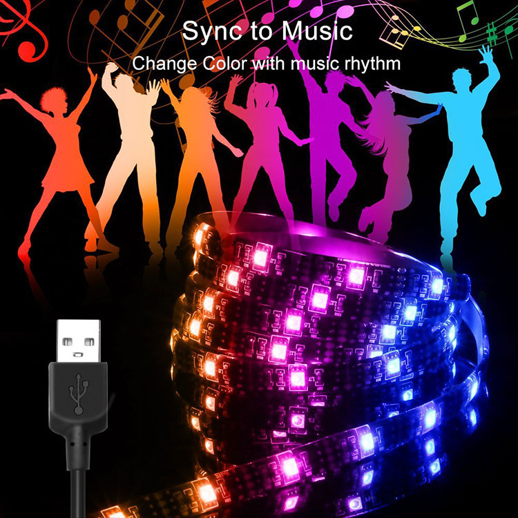 Top Selling Bluetooth Music Changing Led Rope Light