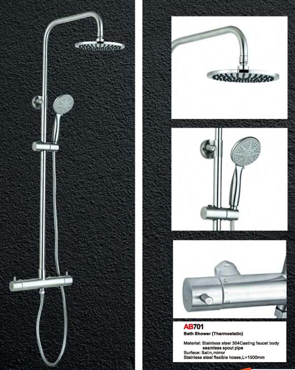 European Standard Bathroom shower cabin and shower cap/bady shower