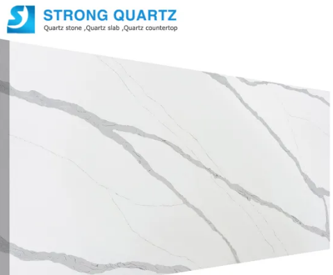 Prefab Polished 3200*1600 20mm/30mm Calacutta /Calacatta White/Black/Grey Quartz Stone