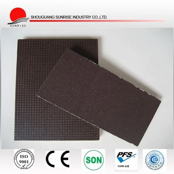 18mm black and brown film faced plywood use for construction