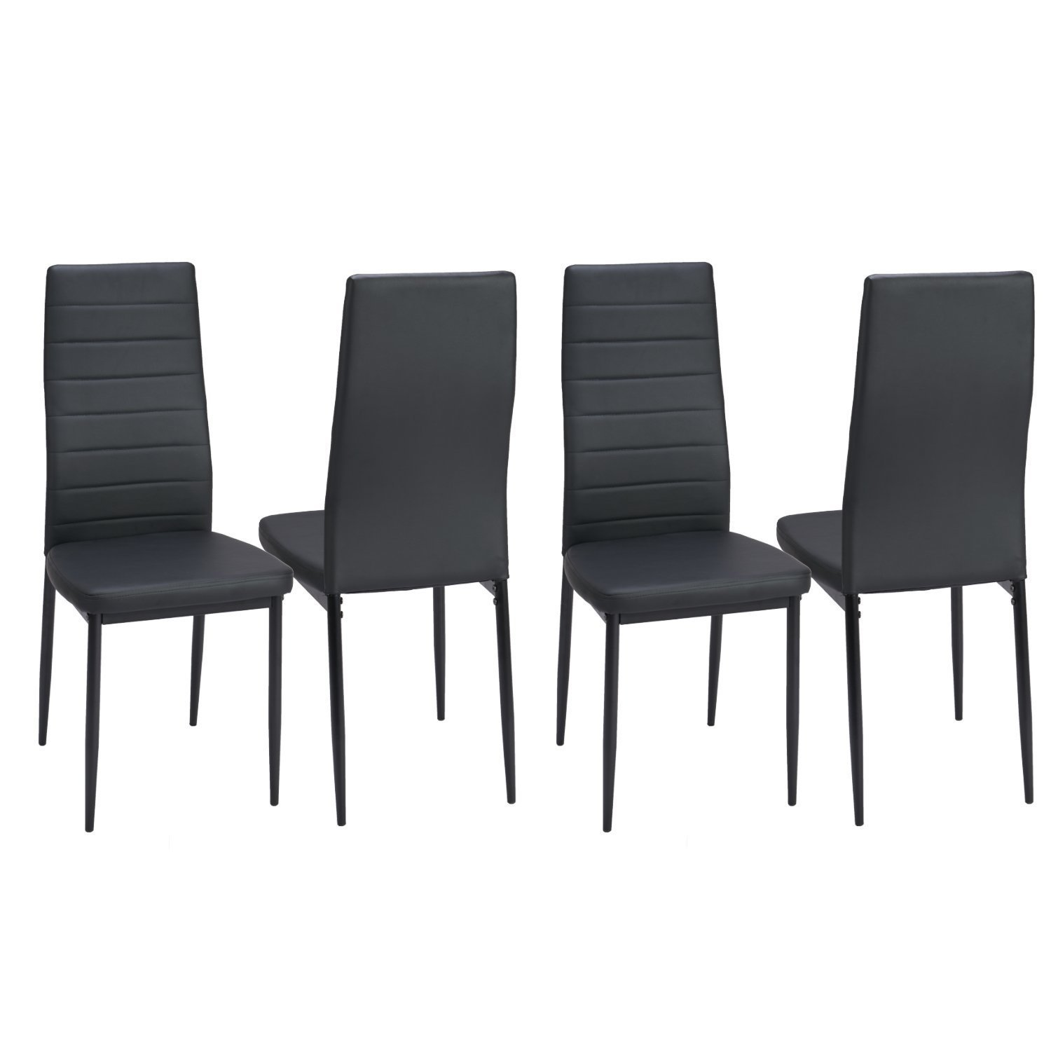 leather restaurant metal dining chair