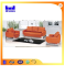 2015 latest leather office sofa design