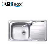 ABLinox stainless steel single bowl kitchen sink