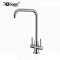 ABLinox elegant design stainless kitchen two handle upper faucet