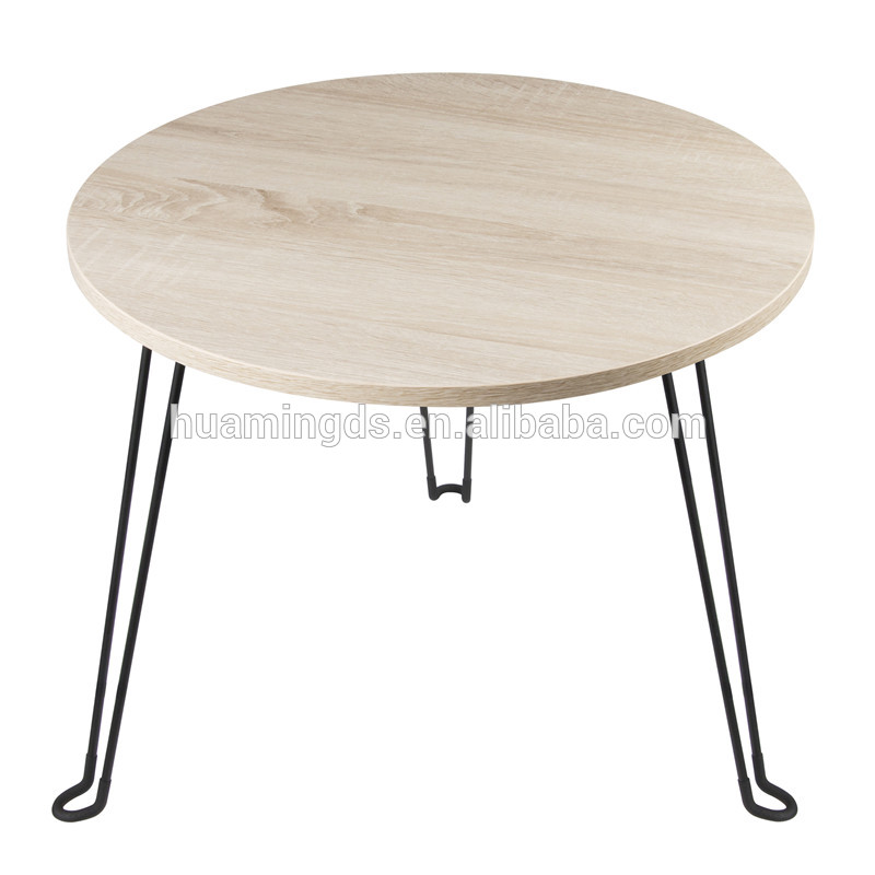 China Manufacturer Smart Round Modern Design Coffee Table