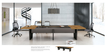 Modern meeting table wood office furniture conference table