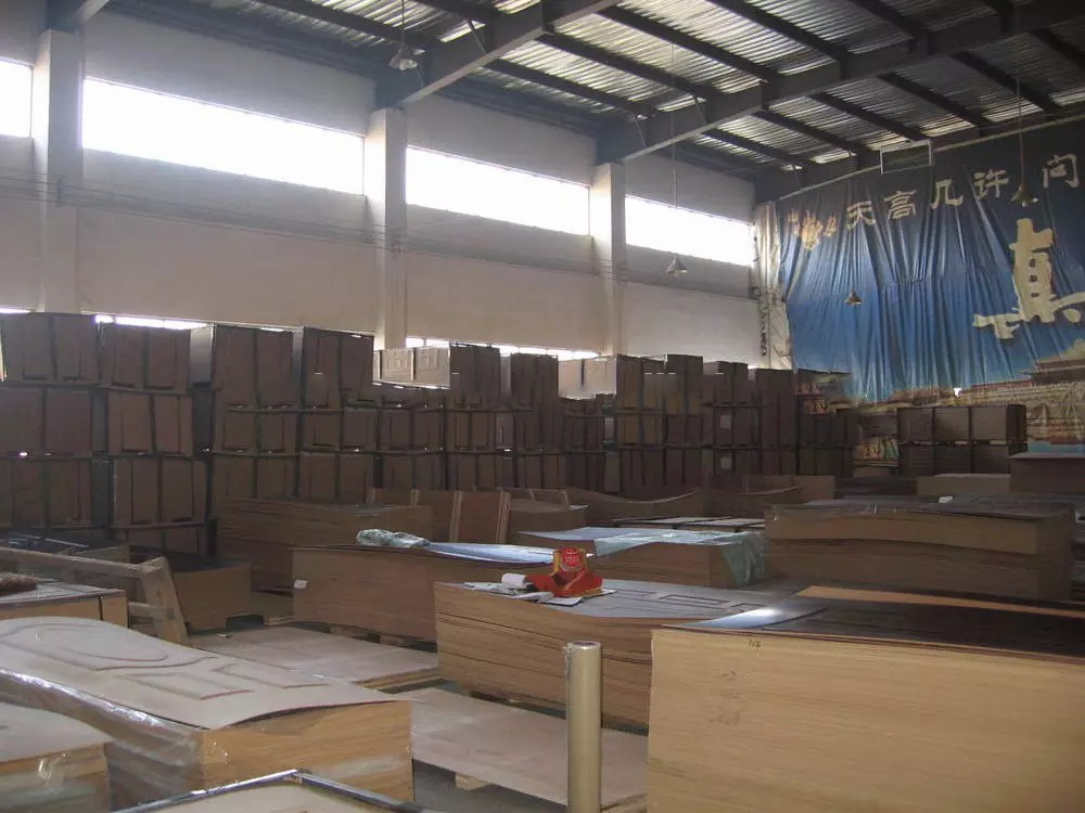 MDF/HDF wood veneer door skin