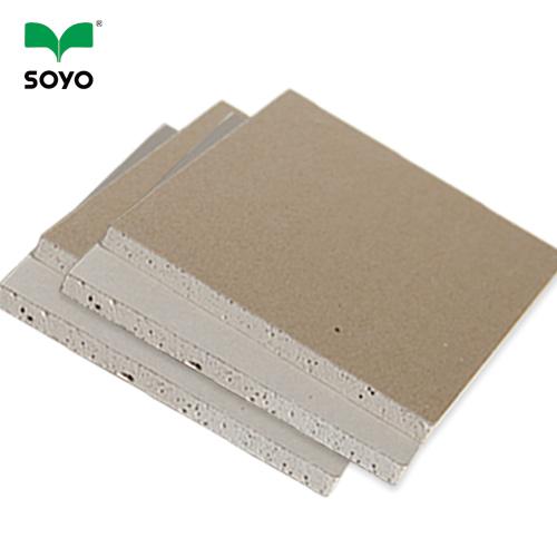 fireproof waterproof drywall gypsum board New technology gypsum board