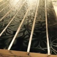 melamine or PVC slotted mdf board/slatwall sheet