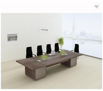 Modern Office Furniture Desk Luxury Wood Conference Table