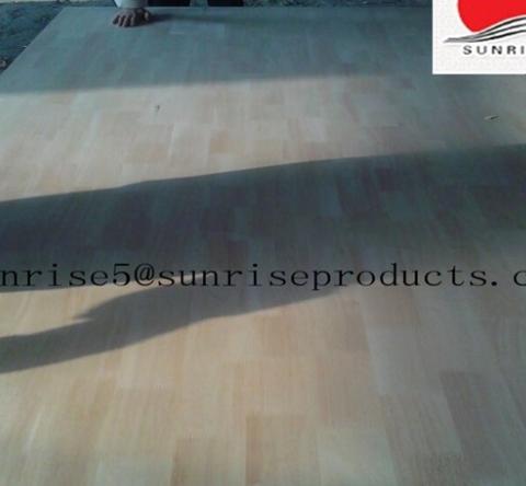 15mm rubber wood veneer laminated mdf