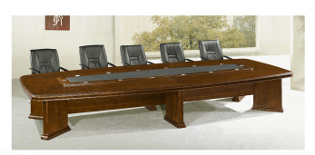 Board Room Extendable Conference Table Solid Surface Meeting Table