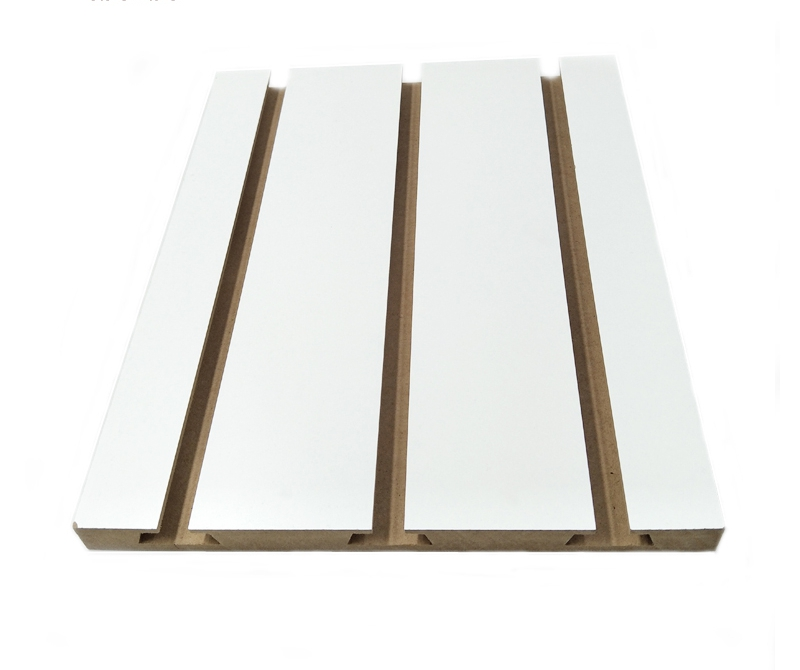 wood slot mdf display board
