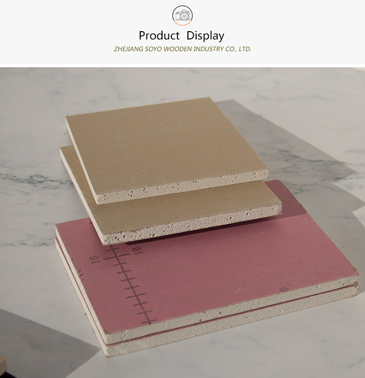 1220*2440 Good building materials used for ceiling gypsum board