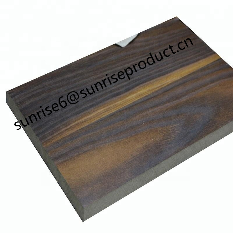 commerical Engineered veneer waterproof mdf board for furniture building