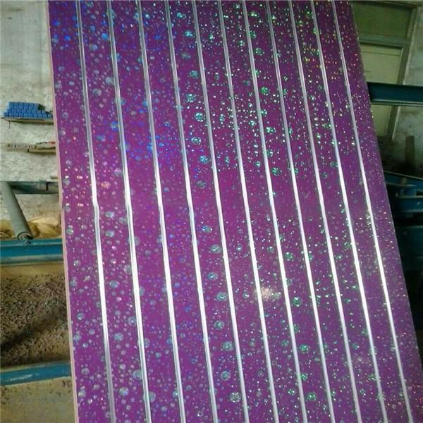 15mm 18mm mdf display board slotted mdf