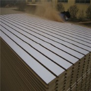 slotted/grooved mdf 1220*2440*18mm