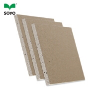 China produces fire resistant Decorative Plasterboard Type gypsum board