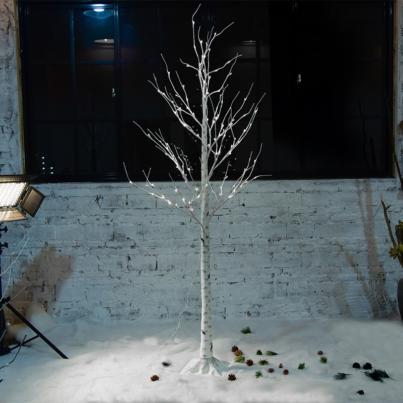China Factory Price Different Color LED Christmas120led Birch Tree Light for Party/Wedding/Christmas Decoration