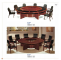 round huge wood granite conference table factory sell directly HP48