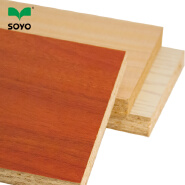 hollow particle board, particle board,Melamine laminated chipboard