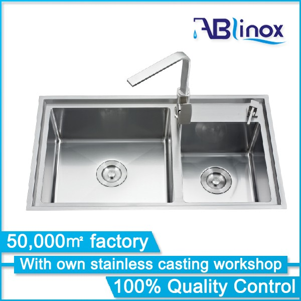 ABLinox durable stretch butterfly kitchen corner sink/china faucet factory