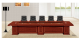 chinese classical mdf wood 10 person conference table factory sell directly HYA48