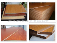 made in china factory types of wood mdf / veneer mdf cheap price