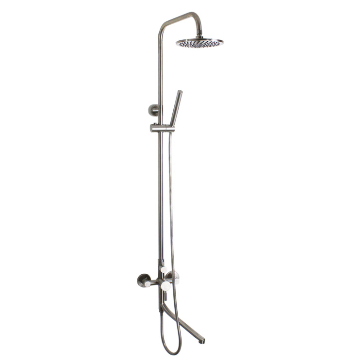 304 shower in stainless steel material