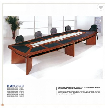 super huge office mdf wood luxury conference table factory sell directly HP41
