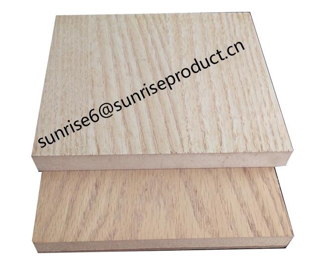 1220*2440mm 6mm 5mm 3mm melamine/ natural veener faced mdf board sheet furniture mouldings